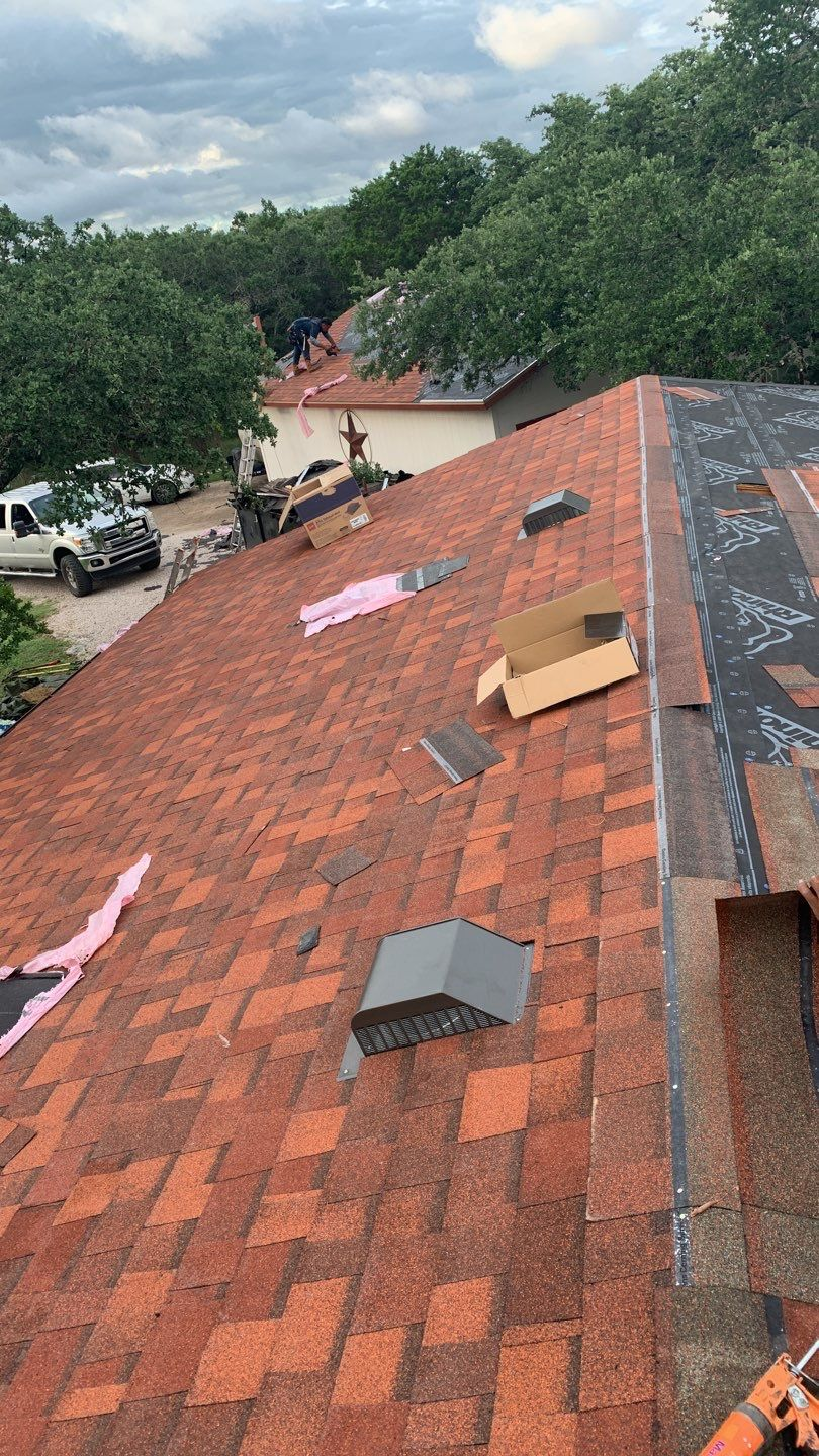 A roof emergency